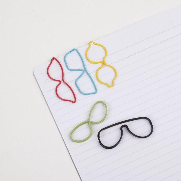 glasses paper clips