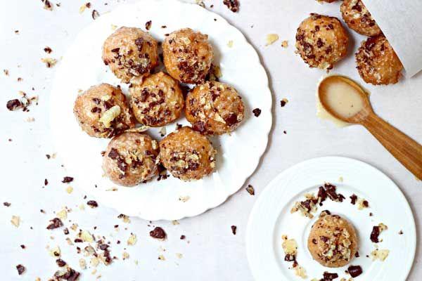 Boozy Glazed Donut Holes