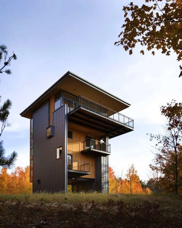 Vertical Hideaway Housing
