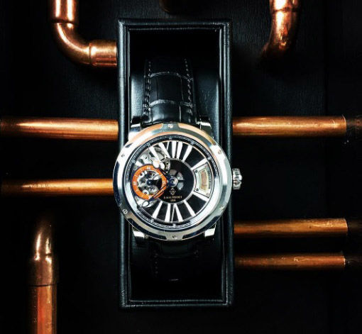 Aged Alcohol Timepieces
