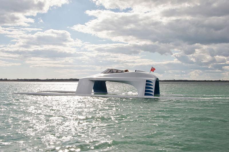 Hydrodynamic Gliding Yachts