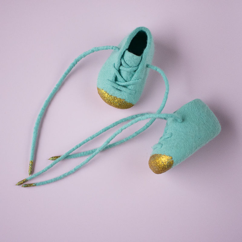 Glittery House Slippers