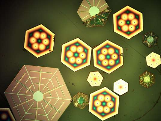 Solar Snowflakes