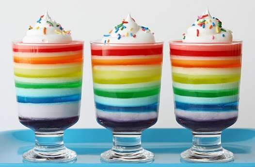 Glorious Treats' Rainbow Jello