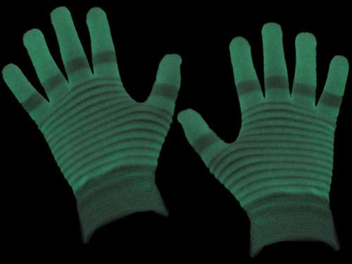 Luminescent Gloves