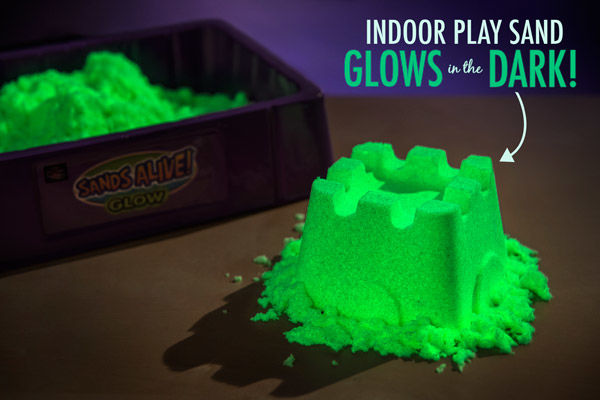 Neon Glowing Sand