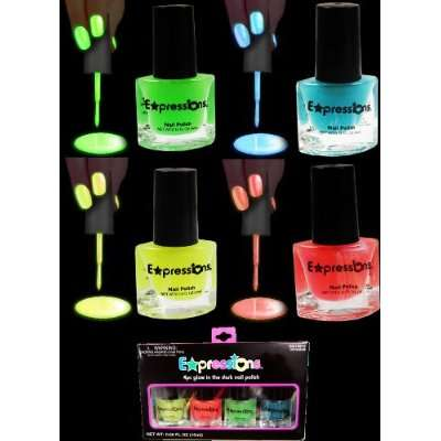 Illuminating Blacklight Manicures