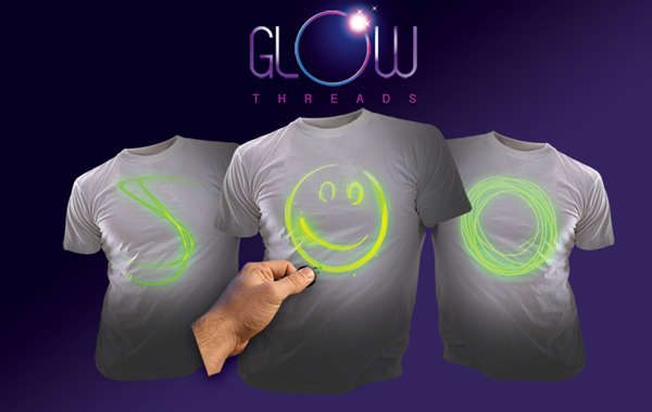 Costumizable Glowing Tees