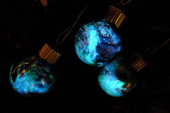 Galactic Christmas Ornaments