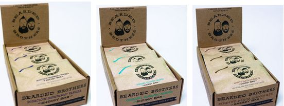 Beard-Inspired Energy Bars