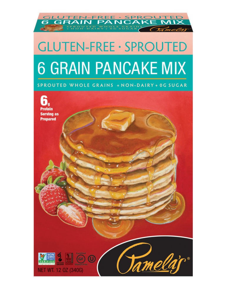 Sprouted Grain Pancake Mixes