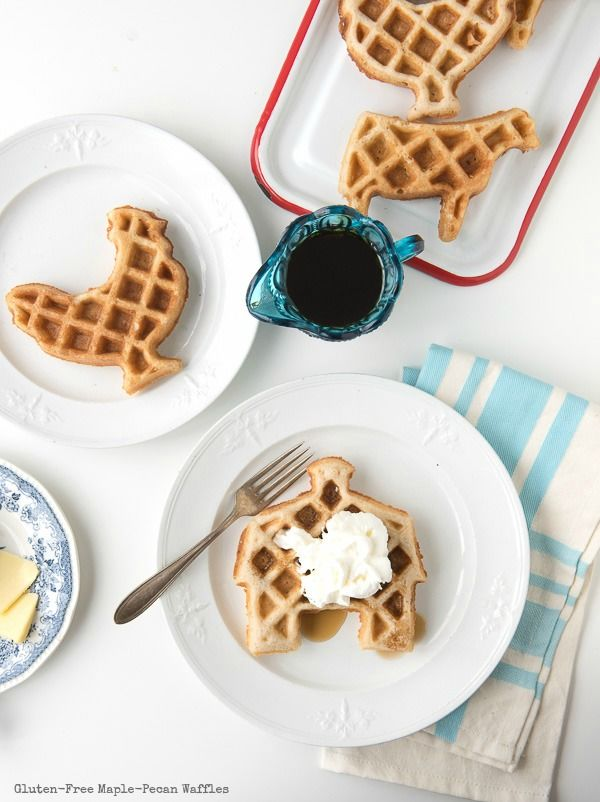 Gluten-Free Animal Waffles