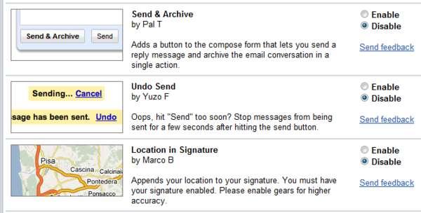 Webmail Undo Buttons