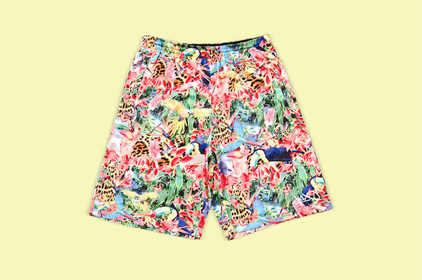 Street Basketball Statement Shorts