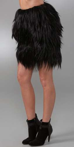 Goat Fur Skirt