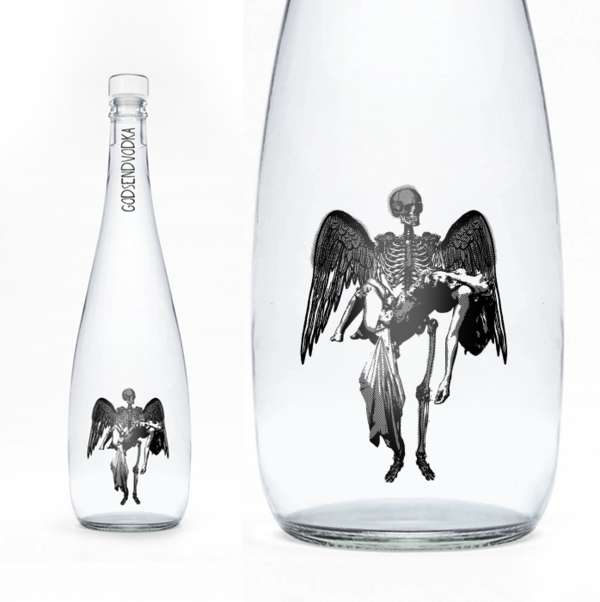 Fallen Angel Alcohol Packaging