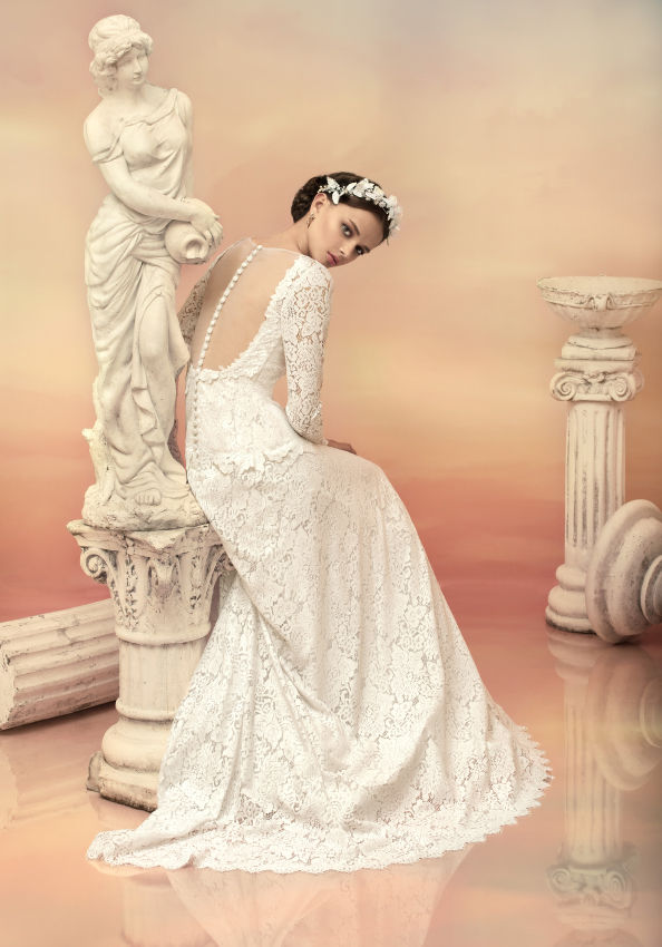 Greek Goddess Wedding Dresses