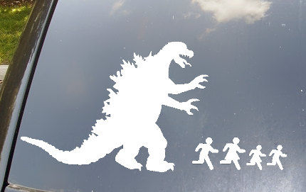 Monstrous Car Decals