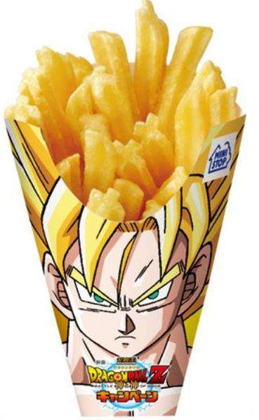 Anime Fast Food Packaging
