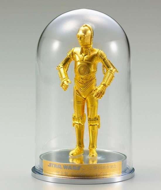 Gold Sci-Fi Figures