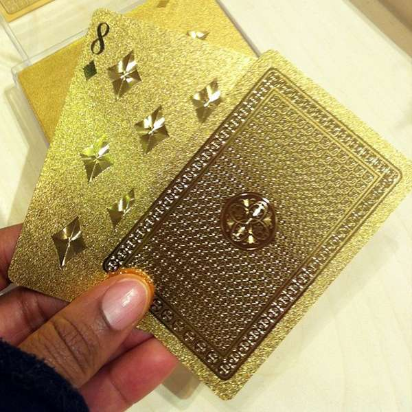 Faux Luxe Playing Cards