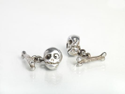 Luxurious Skull Cufflinks
