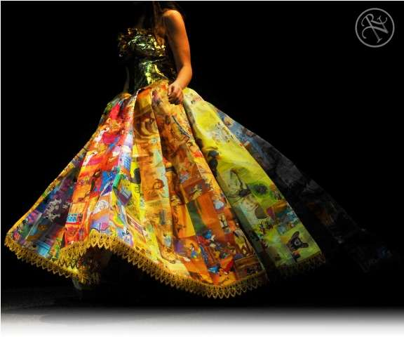 Golden Book Gown