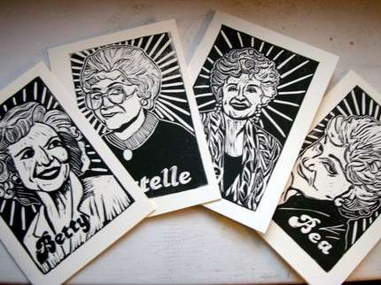 Golden Girls Note Cards