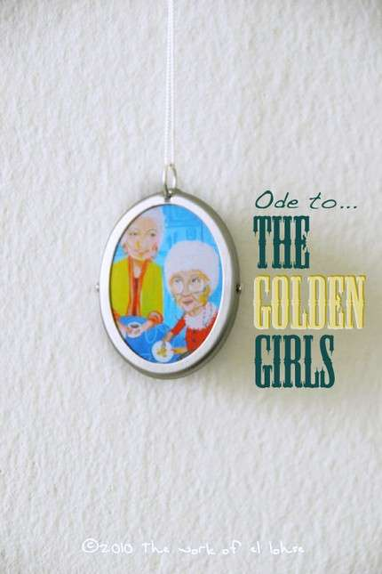 Golden Girls Pendant
