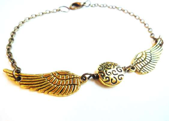 'Golden Snitch' Bracelet
