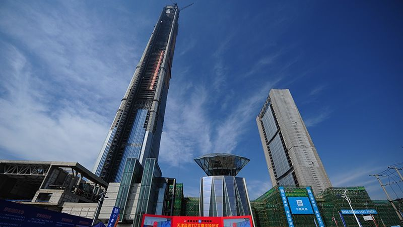 Stick-Inspired Skyscrapers
