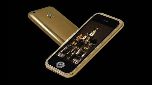 Top 10 Most Expensive Cars >> $3.2 Million Mobile Phones: The Goldstriker iPhone 3GS ...