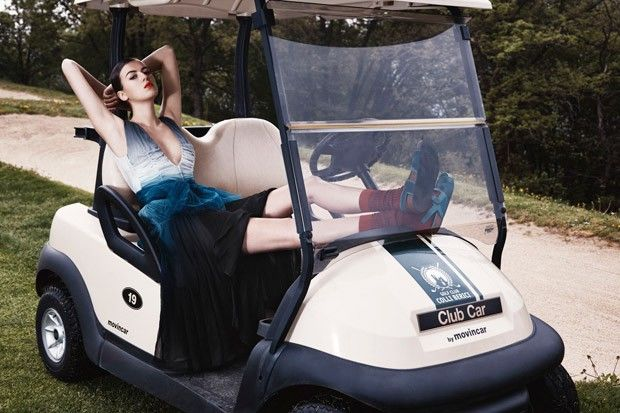 Golfer Fashion Editorials