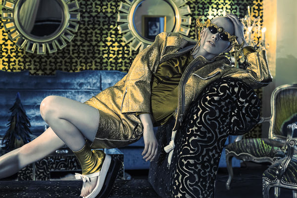 Edgily Gilded Editorials