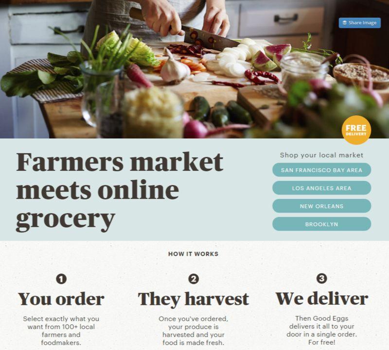 Online Farmers' Markets