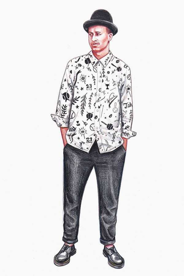 Stereotypical Menswear Illustrations
