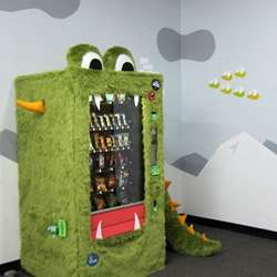 Goodie Monster Vending Machine