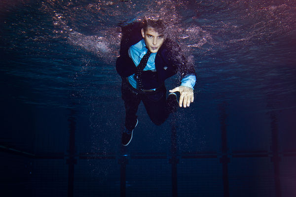 Suited Swimming Lookbooks