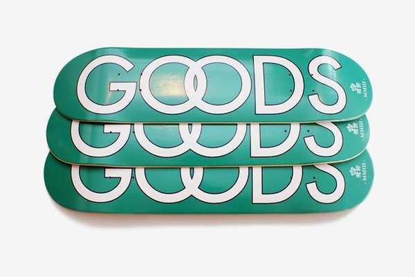 Store-Branded Skate Decks