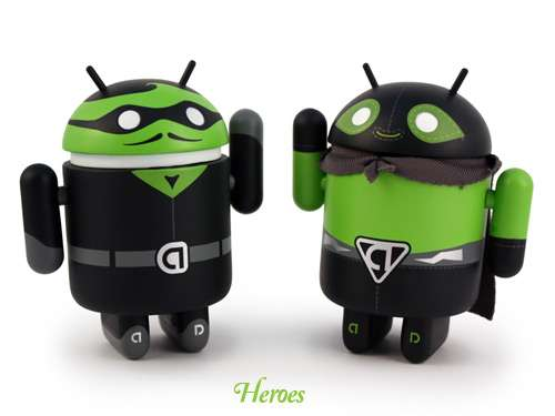Google Android Mini Figures