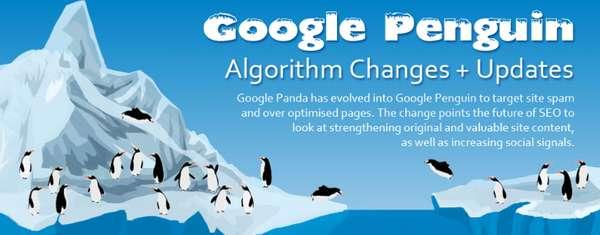 Internet Algorithm Update Charts