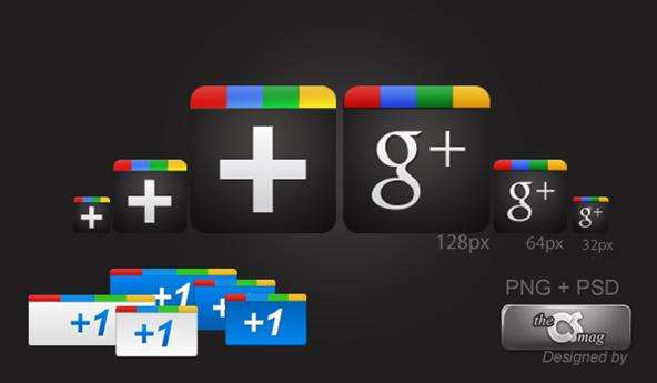 Google Plus Icon Sets
