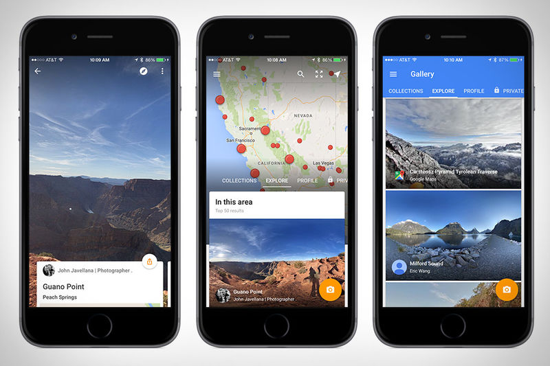 Exploratory Map Apps