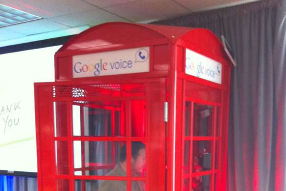 google voice phone booths