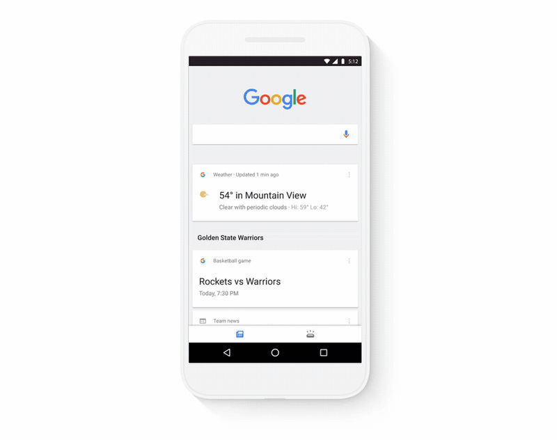 Streamlined Search Apps