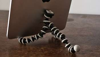 Skeletal iPad Holders