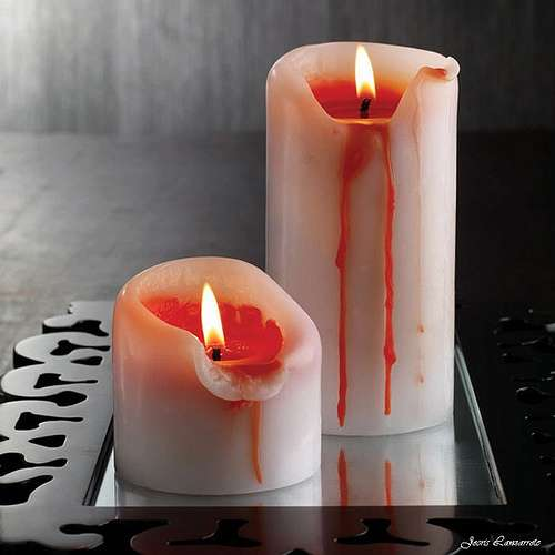 Gory Candle Sticks