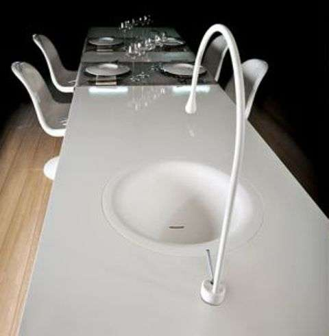 Dining Table Sinks