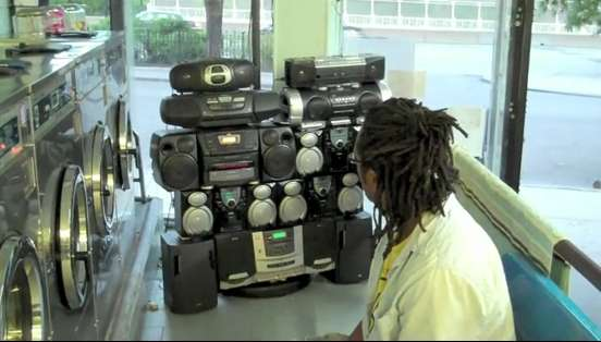 Community Boombox Sculptures