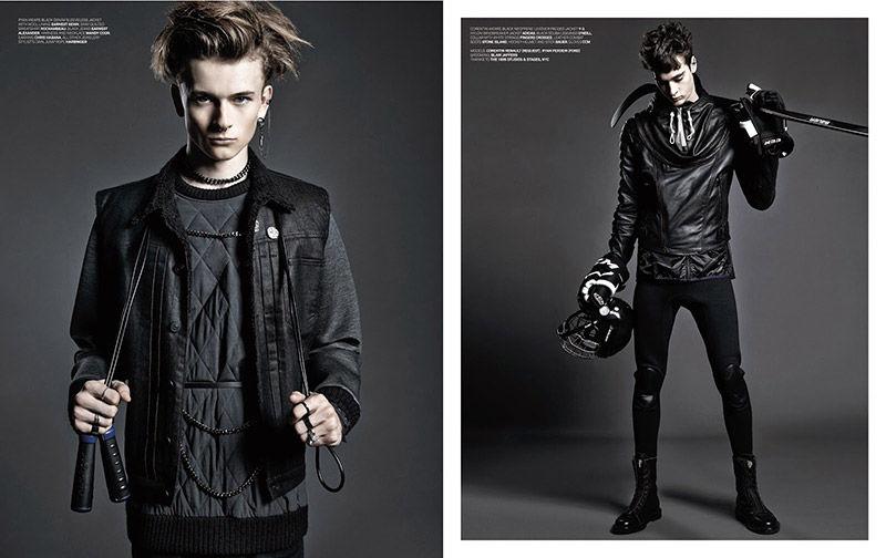 Gothic Sportswear Editorials